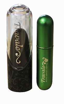 Travalo Excel 5ml Atomiser Green Perfume Container Refill Travel Spray Women