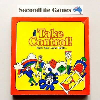 TAKE CONTROL: Know Your Rights ~ Melbourne QLD Board Game. SecondLife Games.