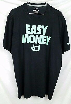 Nike Dri Fit Mens athletic workout top black size XXL exrecise gym wear