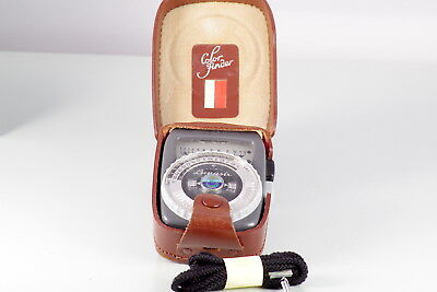 FOTOMETRO CLASSIC GOSSEN LUNASIX LIGHT METER CDs EXCELLENT MADE IN GERMANY 1.5V