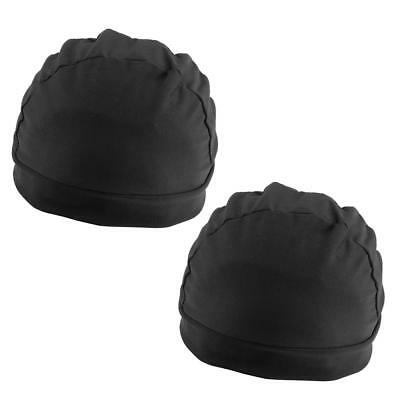 2pcs Spandex Dome Cap Mesh Hair Net for Making Wigs Snood Stretchy Wig Cap