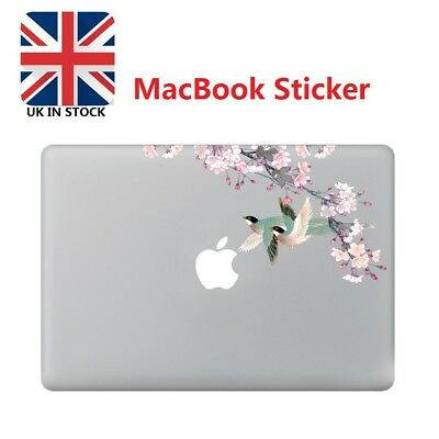 """Chinoiserie Flower Laptop Cover Sticker Decal For Macbook Air/Pro/Retain 13"""""""