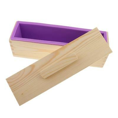 Rectangle Loaf Soap Mold Silicone Cold Processing Tool Cake Toast Baking Set