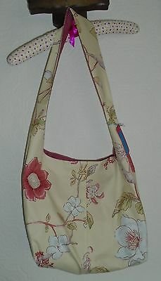 2. Pretty Small Hobo/craft Bag.   Sewing/cross Stitch Etc.  Ideal Xmas Present