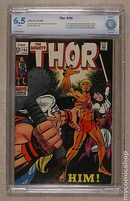 Thor (1962-1996 1st Series Journey Into Mystery) #165 CBCS 6.5