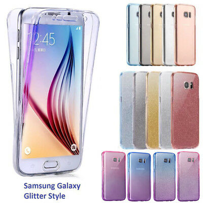 Shockproof Full body Protective Gel Case Cover Fit For Galaxy S6 S7 S8 J3 A5 J5