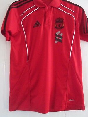 """Liverpool Polo Football Shirt Size 38-40"""" chest /41902"""