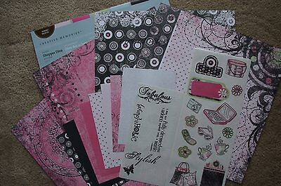 Creative Memories Delight Shopper Diva Additions 12x12 Kit