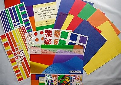 Creative Memories Primary Snap Pack / Kit - Scrapbook/Card/Craft