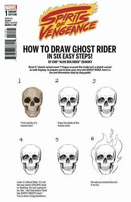 Spirits Of Vengeance #1 (Of 5) (2017) 1St Print Zdarsky How To Draw Variant Cvr