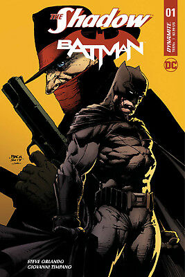 The Shadow Batman #1 (Of 6) (2017) 1St Printing Finch Cover A Dc/dynamite
