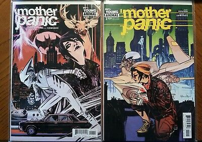 Mother Panic #1 #2 DC Young Animal comic 2017 1st Print NM ships in T-folder
