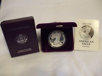 1993-P Proof American Silver Eagle Coin  - One Troy oz .999 Bullion