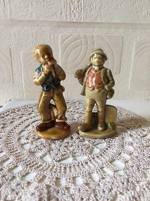 Vintage Wade Character Figures Paddy Maginty & Phil the Fluter