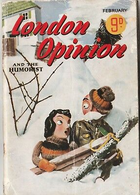 London Opinion and the Humorist February 1941