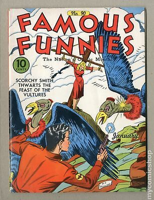 Famous Funnies (1934) #90 VG+ 4.5