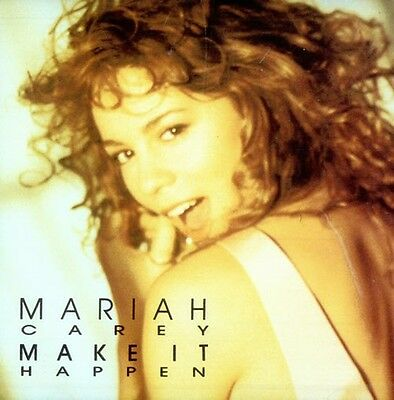 MARIAH CAREY - Make It Happen - USA 2trk Promo Only Cd - Pic Disc,Extremely rare