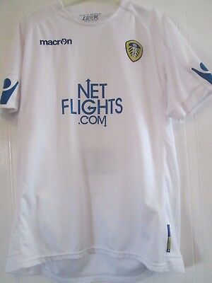 2010-2011 Leeds United Home Football Shirt Size XL ADULTS /41928