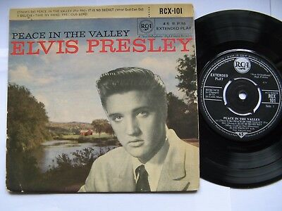 "Elvis Presley ""Peace In The Valley""1961 RCA 4 tracks 7"" EP"