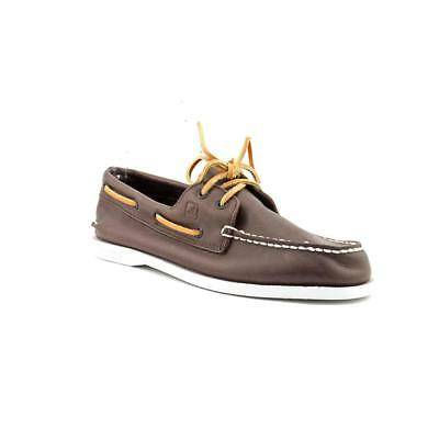 Sperry Top Sider A/O   Moc Toe Leather  Boat Shoe