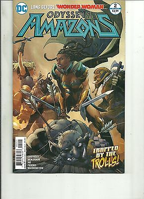 ODYSSEY OF THE AMAZONS  #2 REBIRTH  DC Comics 2017 1st Print VF WONDER WOMAN