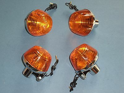 Honda CB 350 - 750 Four K0 - K6 Blinker Set Satz neu flasher set  4 x