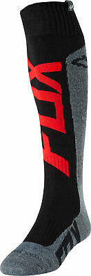 Fox Racing Coolmax Thick Preme Mens MX Offroad Socks Red/Charcoal