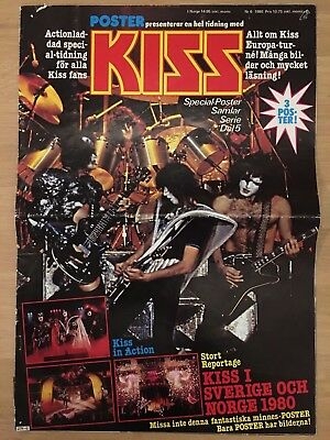 Complete Kiss Special - Sweden Swedish Poster Magazine # 6-1980