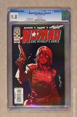 Nomad Girl Without a World (2009) #1 CGC 9.8 0162141014