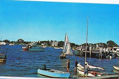 Summer Vacation Activities In New England Waters - Postcard # P57302