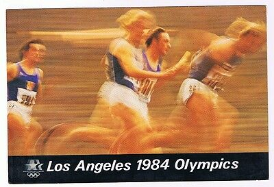 Track & Field - 1984 Los Angeles Summer Olympics Postcard # 40Pz 0025