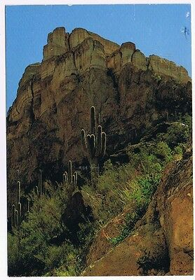 Gavalan Peak North Of Phoenix Arizona Postcard