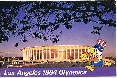 Basketball Forum - 1984 Los Angeles California Olympics Postcard # Pz 0053