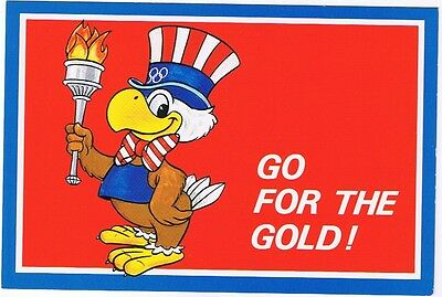 Sam, The Olympic Eagle Mascot - 1984 L.a. Olympics Postcard