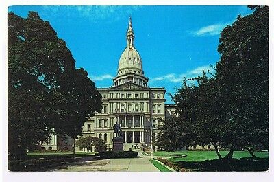 The State Capitol Building Lansing Michigan - Postcard # 40285