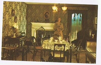 The Room Of Tradition At The Detroit Historical Museum Michigan  -  Postcard