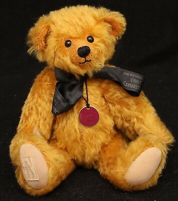 Deans Membership bear Henry (Limited edition no: 4974) with badge