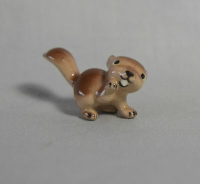 Hagen Renaker vintage mini Squirrel Baby carved tail Monrovia