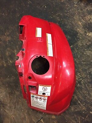Yamaha Grizzly 550 700 Front Right Fender Plastics Red Good Condition