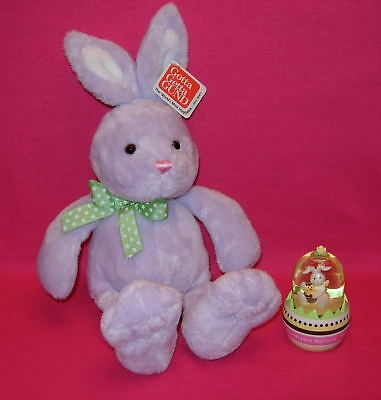 Gund MEADOW BUNNY MAUVE and Easter Waterball