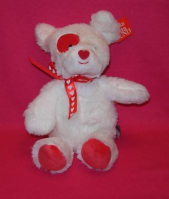 Gund 4037582  LOVE PATCH  Valentine Pup  New with tags