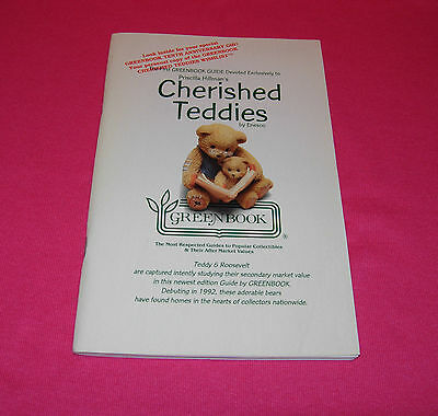 The First GREENBOOK GUIDE Devoted to Cherished Teddies by Enesco