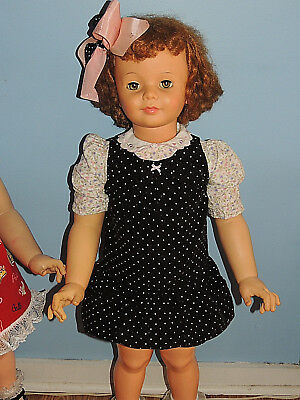 Adorable Black & Pink Polka Dot Jumper & Blouse Patti Play Pal & Similar Dolls
