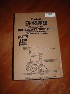 Earthway EV-N-SPRED Commercial Broadcast Spreader Push Type 2150
