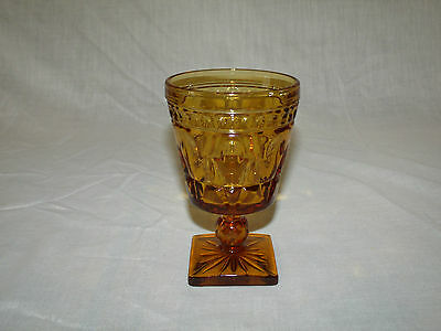 PARK LANE Amber 8ounce Water Goblet by COLONY  (1)