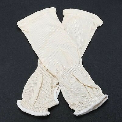 Arm Sleeves Heat Protection Welding Protective Gloves Cut Resistant 2Pcs PPE DIY