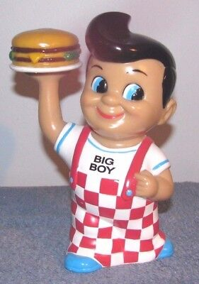 "1999 Elias Big Boy Hamburger Restaurant Bank w/ Hamburger Funko Products 8"" Tall"