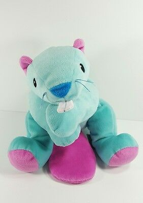 """Ty 1998 Pillow Pals 17"""" Chewy the Beaver Beanie Plush"""