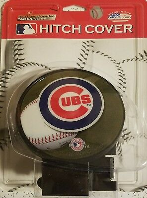 Chicago Cubs Hitch Cover Plastic