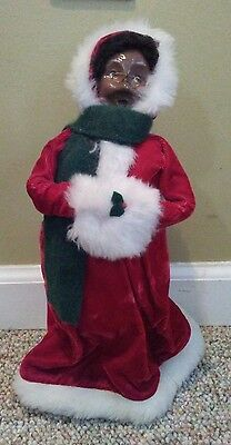 Byers' Choice Ltd The Carolers Christmas African American Black Mrs. Claus 1995